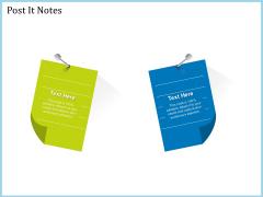 Pitch Deck For Short Term Debt Financing Post It Notes Topics PDF