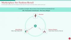 Pitch Deck Private Investor Marketplace For Fashion Retail Topics PDF