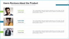 Pitch Deck To Attract Funding After IPO Market Users Reviews About The Product Background PDF