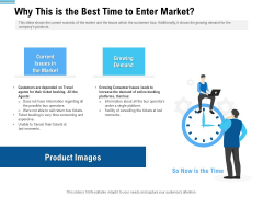 Pitch Deck To Collect Funding From Initial Financing Why This Is The Best Time To Enter Market Download PDF