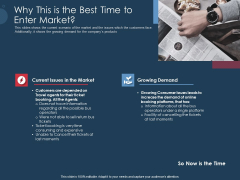 Pitch Deck To Gather Funding From Initial Capital Why This Is The Best Time To Enter Market Microsoft PDF