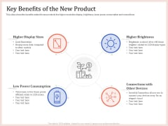 Pitch Deck To Raise Capital From Product Pooled Funding Key Benefits Of The New Product Pictures PDF