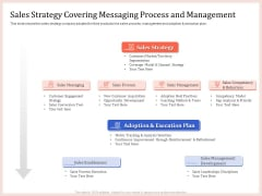 Pitch Deck To Raise Capital From Product Pooled Funding Sales Strategy Covering Messaging Process And Management Themes PDF