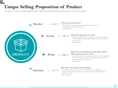 Pitch Presentation Raising Series C Funds Investment Company Unique Selling Proposition Of Product Summary PDF