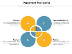 Placement Monitoring Ppt PowerPoint Presentation Icon Guidelines Cpb Pdf