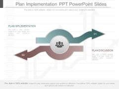 Plan Implementation Ppt Powerpoint Slides