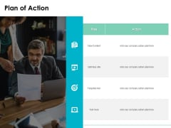 Plan Of Action Ppt PowerPoint Presentation Infographics Good