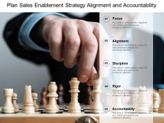 Plan Sales Enablement Strategy Alignment And Accountability Ppt PowerPoint Presentation Gallery Microsoft