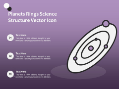 Planets Rings Science Structure Vector Icon Ppt PowerPoint Presentation File Show PDF