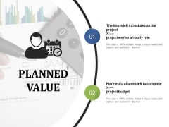 Planned Value Ppt PowerPoint Presentation Portfolio Outline