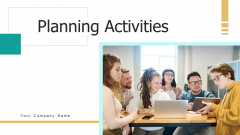 Planning Activities Technology Resources Ppt PowerPoint Presentation Complete Deck With Slides
