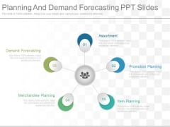 Planning And Demand Forecasting Ppt Slides