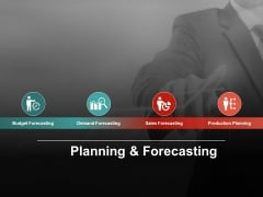 Planning And Forecasting Ppt PowerPoint Presentation Gallery Maker