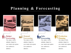 Planning And Forecasting Ppt PowerPoint Presentation Infographic Template Graphics Tutorials