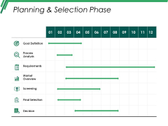 Planning And Selection Phase Ppt PowerPoint Presentation Styles Graphic Tips