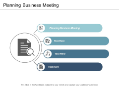 Planning Business Meeting Ppt Powerpoint Presentation Icon Example Topics Cpb