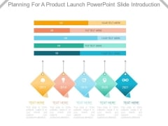 Planning For A Product Launch Powerpoint Slide Introduction