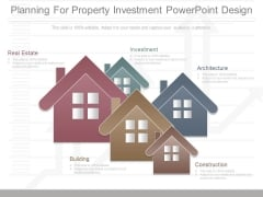 Planning For Property Investment Powerpoint Design