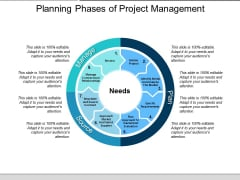 Planning Phases Of Project Management Ppt PowerPoint Presentation Outline Shapes