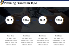 Planning Process In Tqm Ppt PowerPoint Presentation Icon Graphics Example