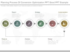 Planning Process Of Conversion Optimization Ppt Good Ppt Example