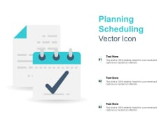 Planning Scheduling Vector Icon Ppt PowerPoint Presentation Gallery Background