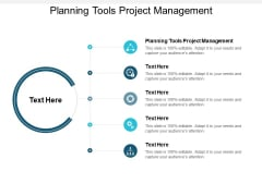 planning tools project management ppt powerpoint presentation infographics sample cpb