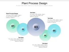Plant Process Design Ppt PowerPoint Presentation Summary Elements Cpb Pdf