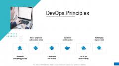 Platform Engineering PowerPoint Template Slides Devops Principles Microsoft PDF