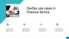 Platform Engineering PowerPoint Template Slides Devops Use Cases In Financial Service Sample PDF
