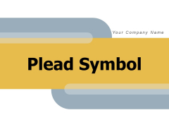 Plead Symbol Marketing Investment Pitch Ppt PowerPoint Presentation Complete Deck