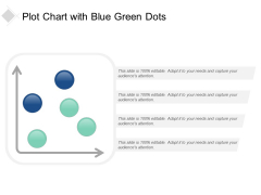 Plot Chart With Blue Green Dots Ppt Powerpoint Presentation Portfolio Graphic Tips