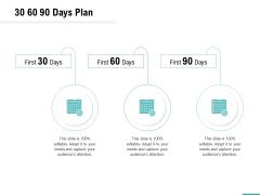 Plumbing Sanitary Works 30 60 90 Days Plan Ppt Inspiration Graphics Example PDF