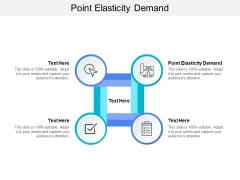 Point Elasticity Demand Ppt PowerPoint Presentation Gallery Icons Cpb