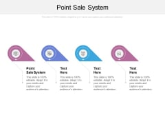 Point Sale System Ppt PowerPoint Presentation Model Graphics Example Cpb