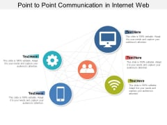 Point To Point Communication In Internet Web Ppt PowerPoint Presentation Icon Styles
