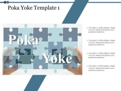 Poka Yoke Puzzle Ppt PowerPoint Presentation File Icons
