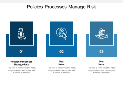 Policies Processes Manage Risk Ppt PowerPoint Presentation Styles Show Cpb