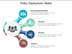 Policy Deployment Matrix Ppt Powerpoint Presentation Styles Themes Cpb