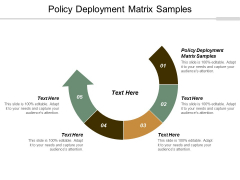 Policy Deployment Matrix Samples Ppt Powerpoint Presentation Pictures Master Slide Cpb