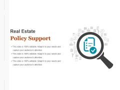 Policy Support Ppt PowerPoint Presentation Background Images