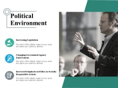 Political Environment Ppt PowerPoint Presentation Ideas Good
