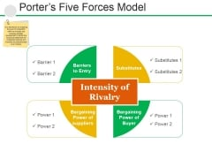 Porters Five Forces Model Ppt PowerPoint Presentation File Example Introduction