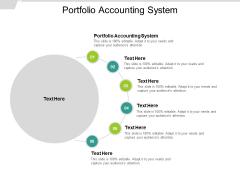 Portfolio Accounting System Ppt PowerPoint Presentation Visual Aids Ideas Cpb