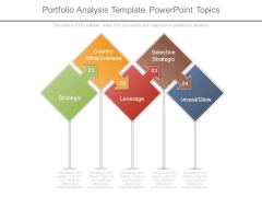 Portfolio Analysis Template Powerpoint Topics