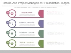 Portfolio And Project Management Presentation Images