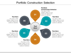Portfolio Construction Selection Ppt PowerPoint Presentation Infographic Template Styles Cpb