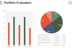 Portfolio Evaluation Ppt PowerPoint Presentation Infographics Objects