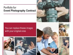 Portfolio For Event Photography Contract Ppt PowerPoint Presentation Icon Outfit