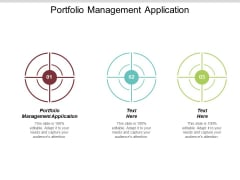 Portfolio Management Application Ppt PowerPoint Presentation Infographic Template Topics Cpb